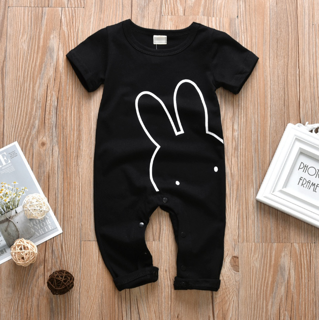 2019 Baby / Toddler Rabbit Print Jumpsuit