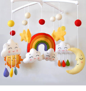 Baby bed handmade ornaments