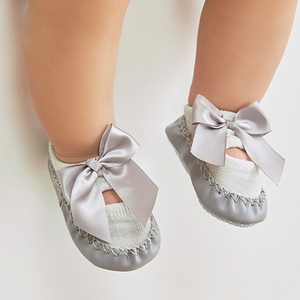 Baby's Bowknot Hollow-out Sock
