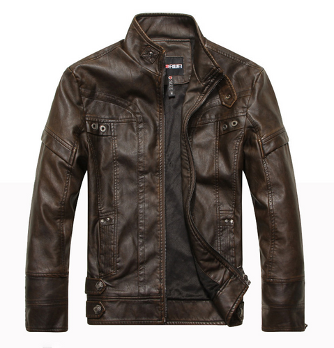 Mountainskin Mens Leather Jackets