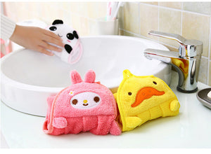 Soft cartoon newborn baby bath robes