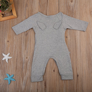 Baby with wings cute coveralls