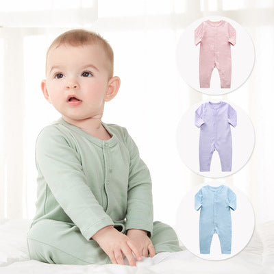 Cotton infant jumpsuit