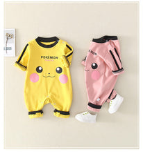 Load image into Gallery viewer, Baby Pikachu jumpsuit