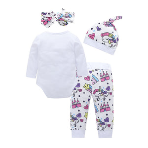 Baby Unicorn One Piece and Hat