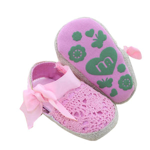Knit baby toddler shoes