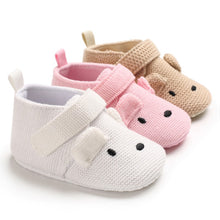 Load image into Gallery viewer, Cotton knit baby toddler shoes