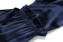 Load image into Gallery viewer, Two-piece velvet lantern sleeve temperament skirt