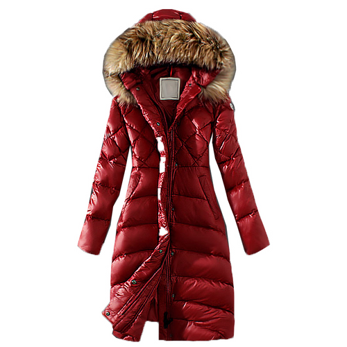 Winter Warm Jacket Big Fur