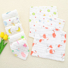 Load image into Gallery viewer, Newborn baby saliva towel wash towel