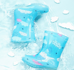 Children's cloud slippery rain boots