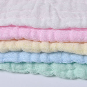 Baby cotton slobber towels