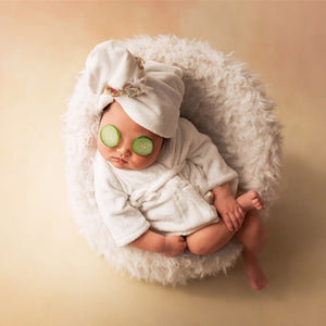 Newborn baby bath robe