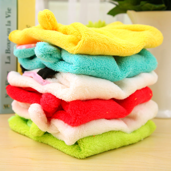 Baby soft cartoon towel