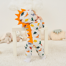 Load image into Gallery viewer, Dinosaur baby jumpsuit