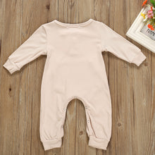 Load image into Gallery viewer, Newborn baby pocket long sleeve jumpsuit