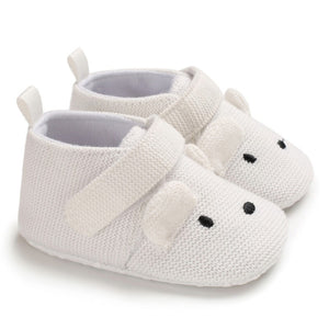 Cotton knit baby toddler shoes