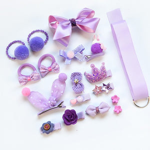 Children's cartoon hair accessory set