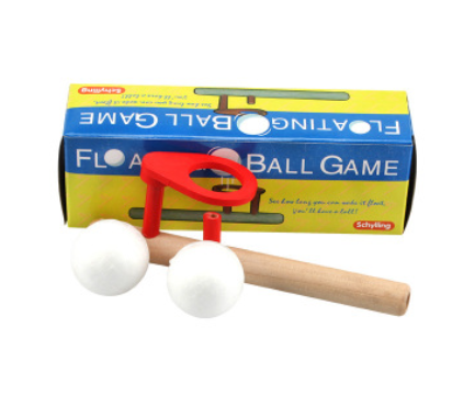 Woodworking balance blowing toy
