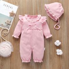 Load image into Gallery viewer, Stylish baby boy girl clothes Hooded jumpsuit
