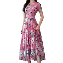 Load image into Gallery viewer, Beach Long Dress Women Elegant