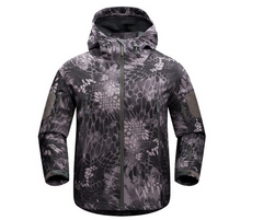 Men's outdoor thermal jacket mountaineering
