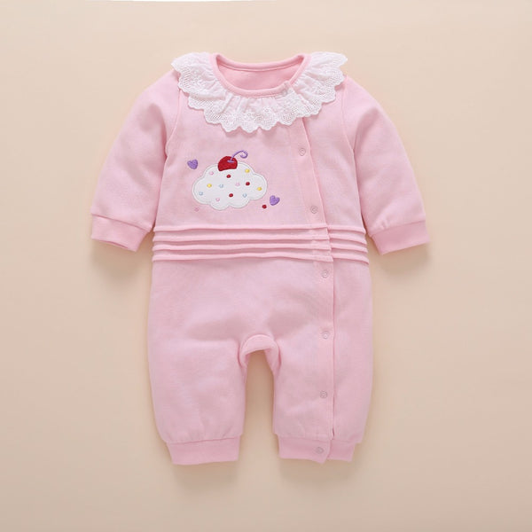 Cute baby long sleeve cotton clothes