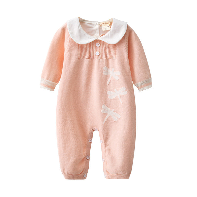 Baby cotton infant sleeper onesie