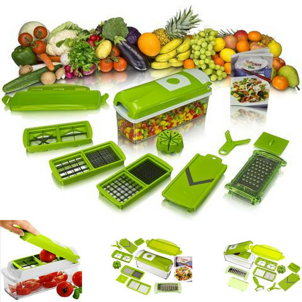 12 In 1 Multifunctional Dicer And Slicer