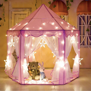 Portable children's tent princess castle