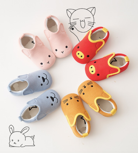 Small animal cotton baby shoes 6-24 months