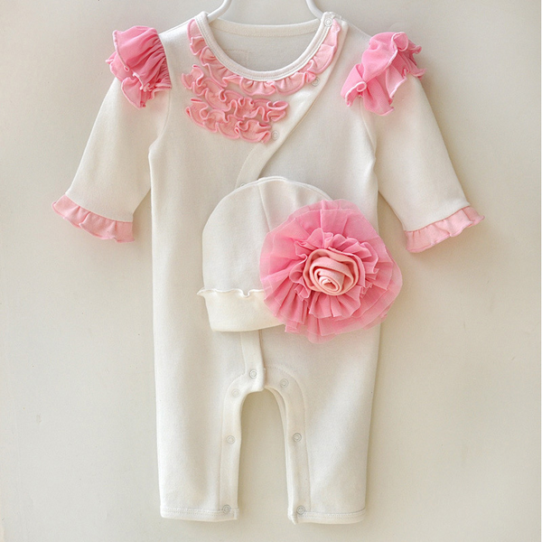 Baby Girls Princess Clothing Jumpsuits