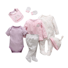 Load image into Gallery viewer, 7 Pcs/set tender Babies newborn Baby girl boy clothes