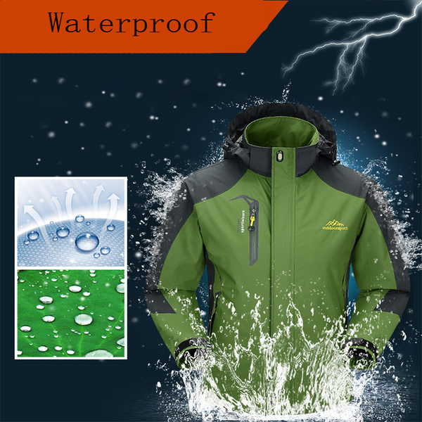 Jacket Men winter Waterproof Windbreaker