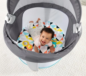 Baby Dome Is a Super-Portable Playard For Your Baby