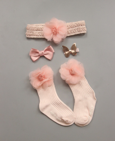 Frilly Ankle Princess Anti Slip Socks(0-24M)