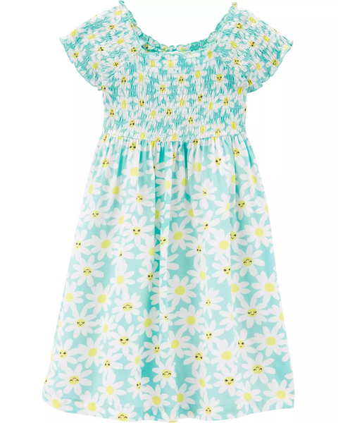 Daisy Poplin Dress
