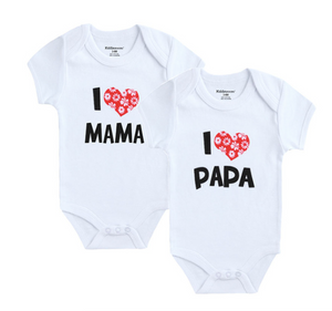 Newborn Baby Clothes Short Sleeve