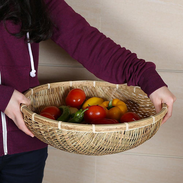 Bamboo fruits vegetables storage