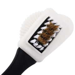 Useful Suede Shoe Brush 3 Side Cleaning Brush