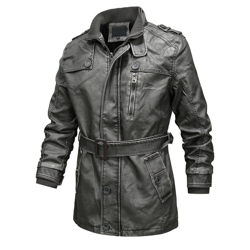 Winter New Men Leather Jackets
