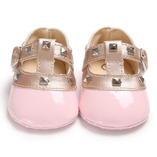 Newborn Baby Girl Bow Princess Shoes