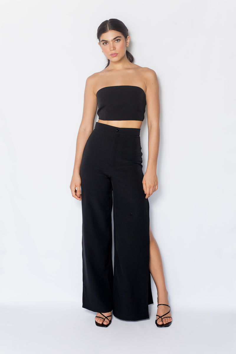 Espirito Crop Top - Negro