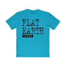 Load image into Gallery viewer, FE The Flat Earth Files, Men's Very Important Tee