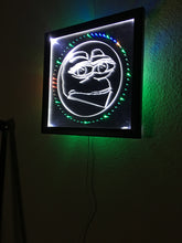 Load image into Gallery viewer, FEPE LED WALL CLOCK, by CHRIS PONTIUS OF FLATEARTHMODELS.com