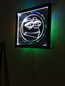 FEPE LED WALL CLOCK, by CHRIS PONTIUS OF FLATEARTHMODELS.com