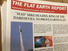 Load image into Gallery viewer, FLAT EARTH REPORT, NEWSPAPER , 11-15-2018