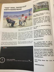 FLAT EARTH REPORT, NEWSPAPER , 11-15-2018