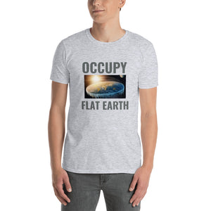 OCCUPY FLAT EARTH, Short-Sleeve Unisex T-Shirt