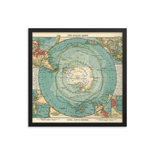 Load image into Gallery viewer, OCCUPY ANTARCTICA Framed poster
